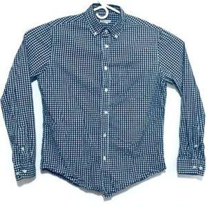 Merona Men's Medium Long Sleeve Button-Up
